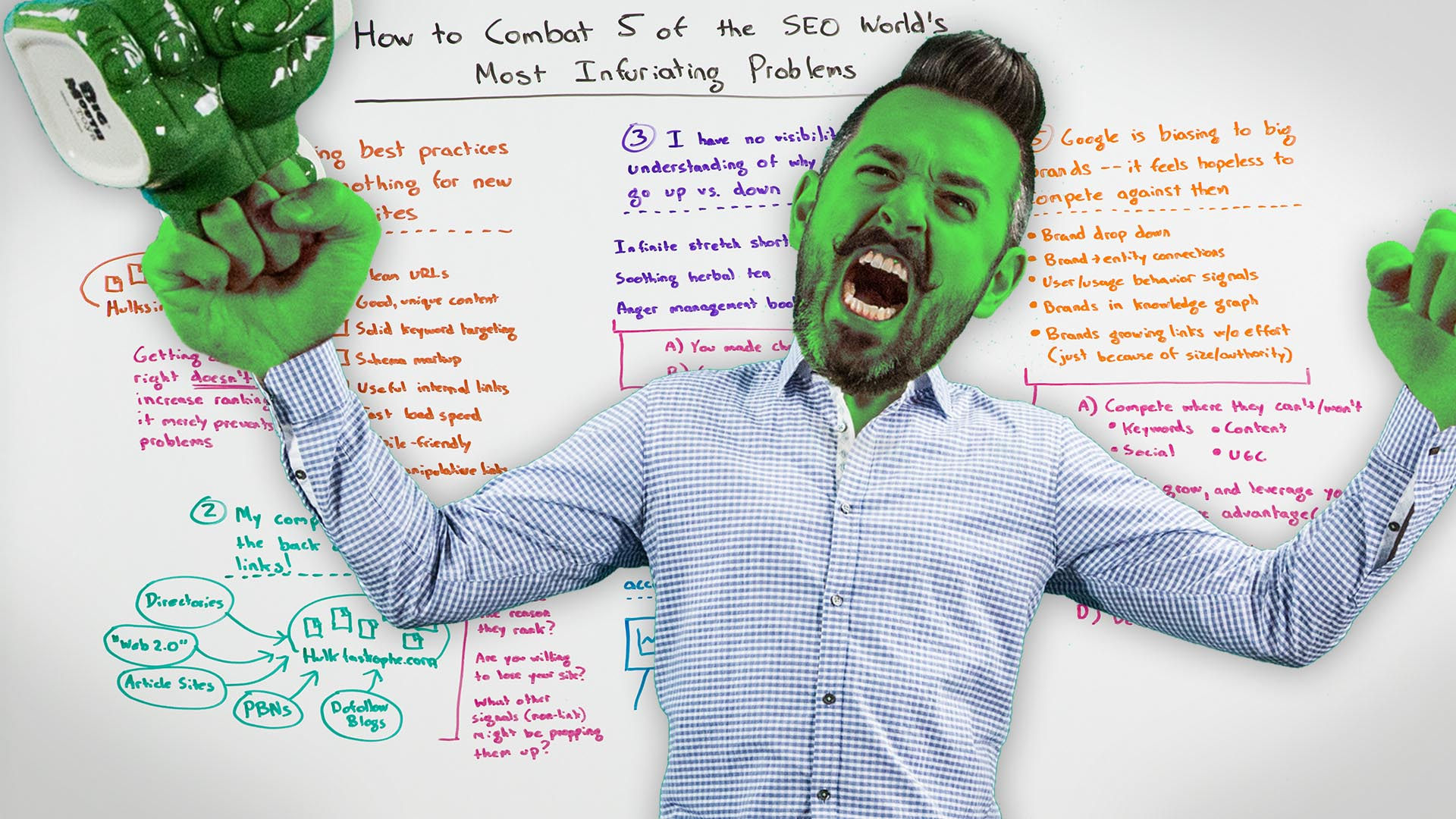 Five of the SEO World's Most Infuriating Problems