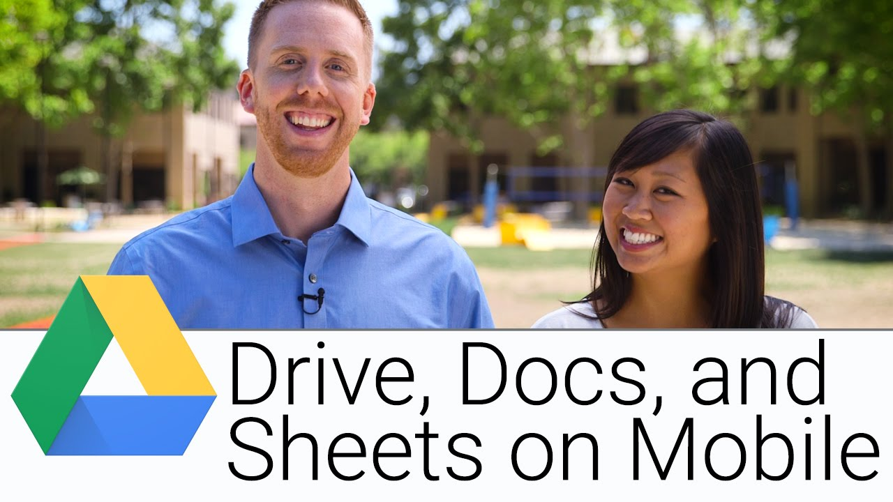 Using Google Drive, Docs and Sheets for Business: Mobile Edition