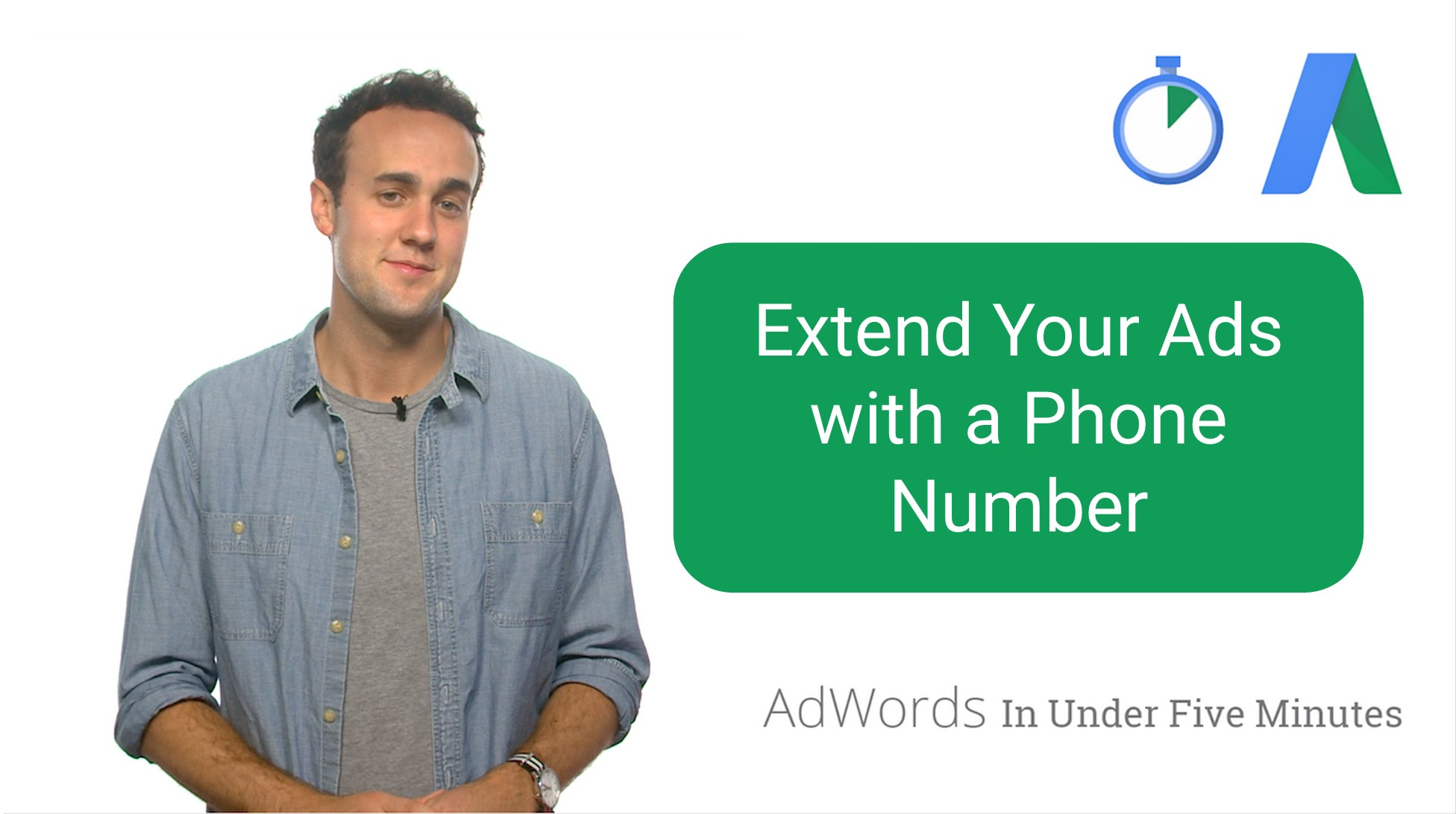 Extend Your Ads with a Phone Number (VIDEO)