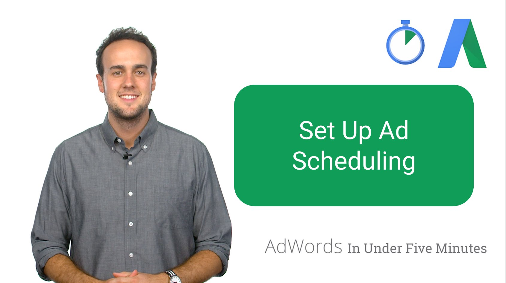 Setting Up Ad Scheduling