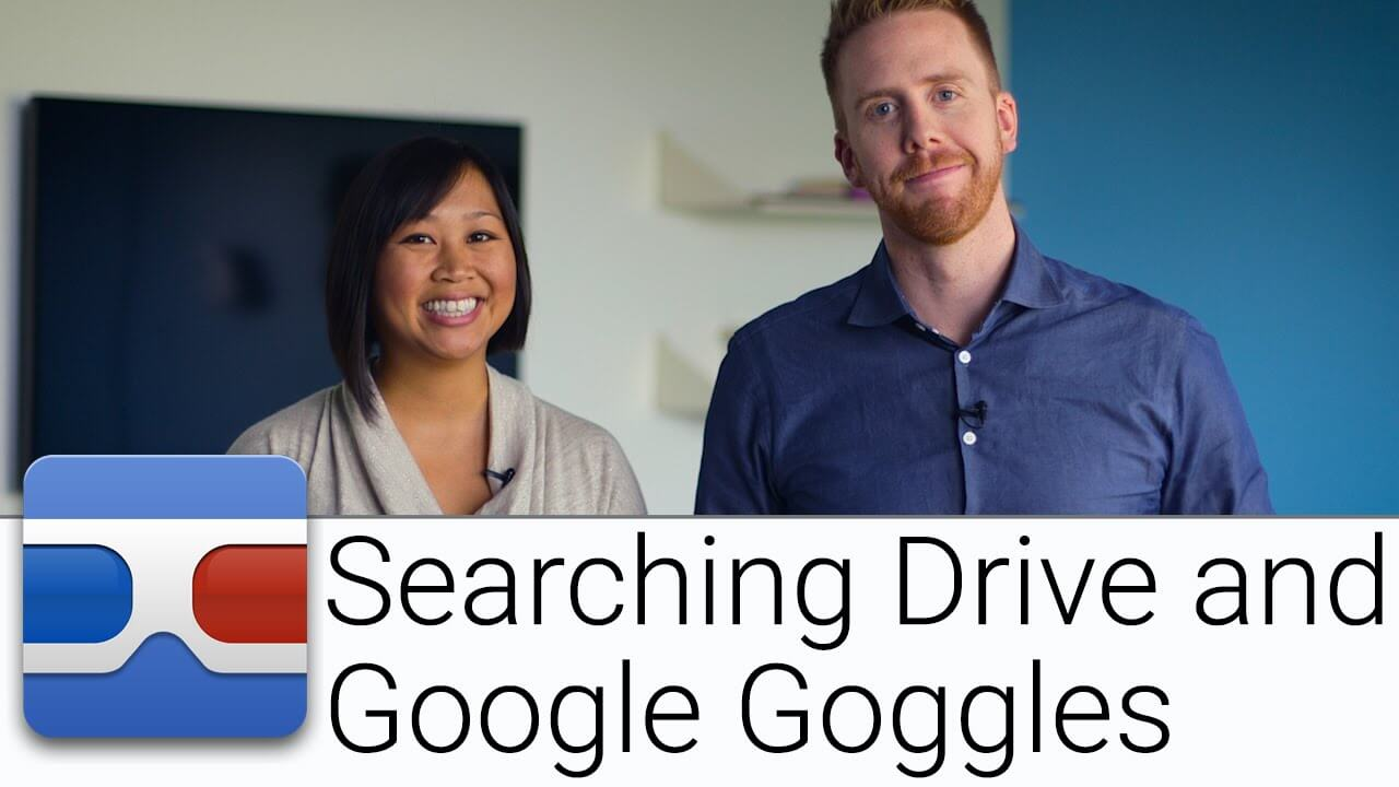 Searching Drive with Google Googles