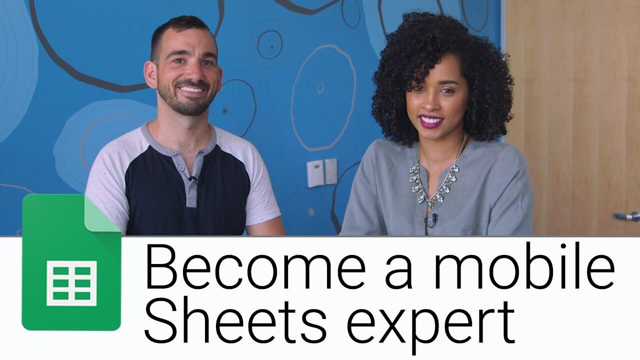 Making Sheets intuitive and user-friendly