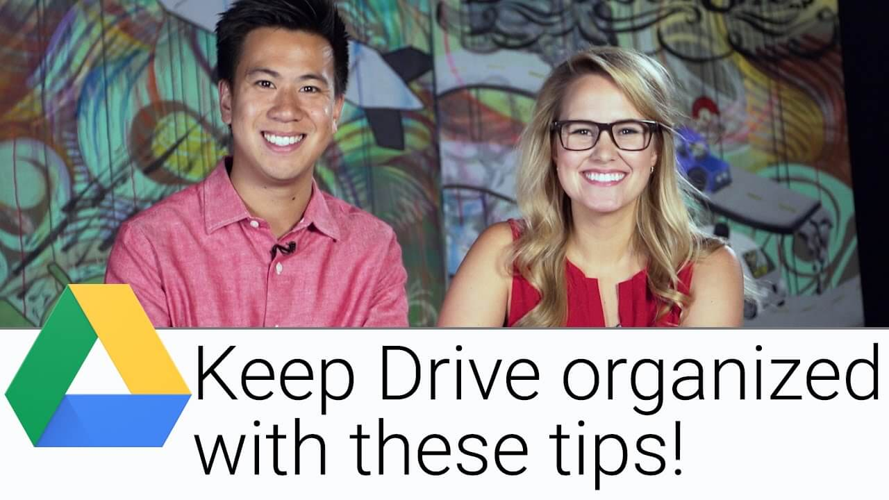 How to perfectly organize your Drive folders