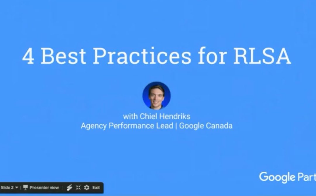 Learn about 4 Best Practices for RLSA in 10 Minutes