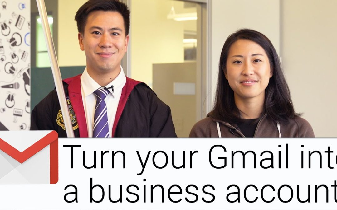 Turn your Gmail into a business account