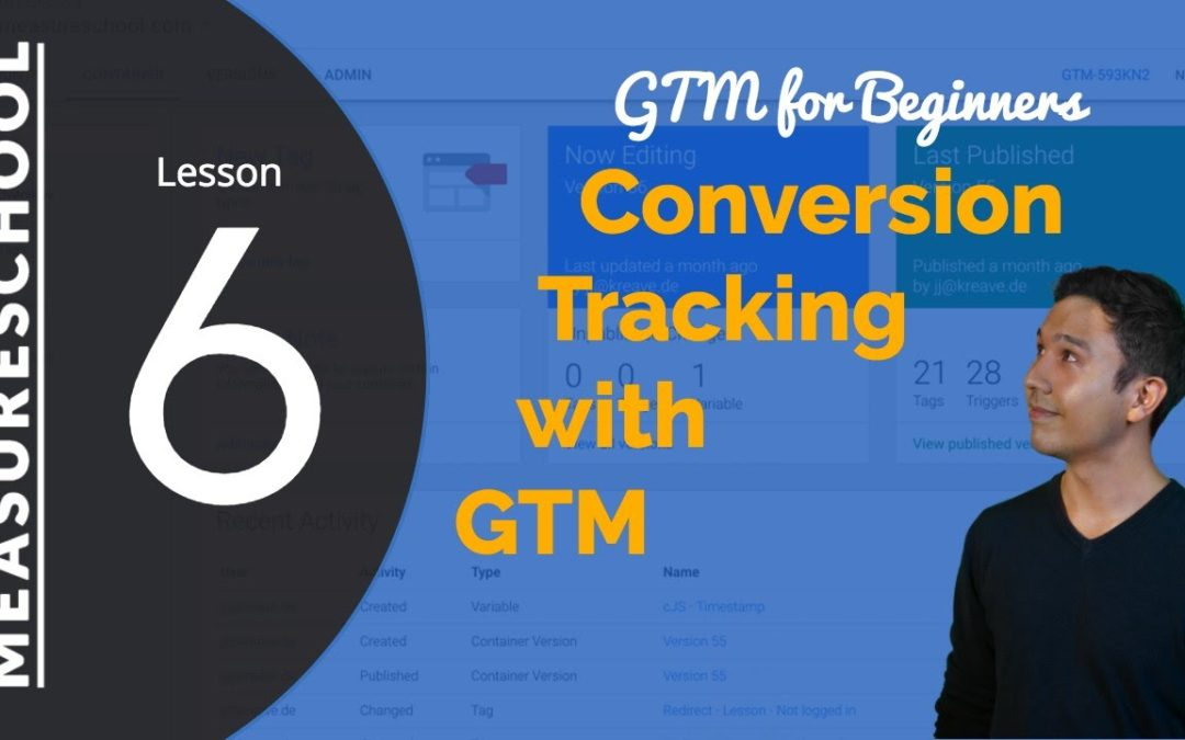 Conversion Tracking with Google Tag Manager