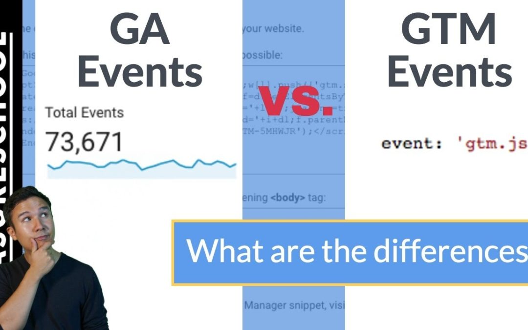 GTM Events vs. Google Analytics Events – What's the difference?