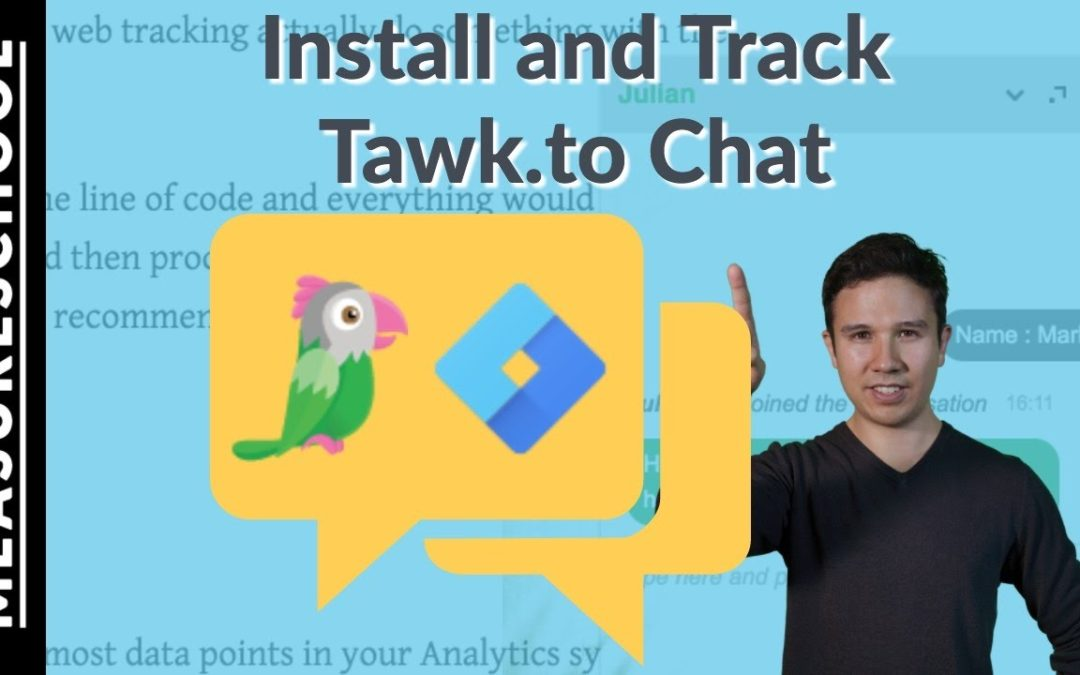 How to install and track Live Chat App Tawk.to with GTM