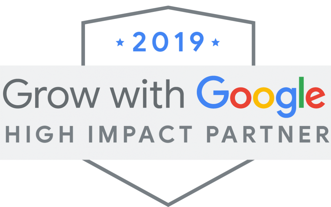 WebSuited Named 2019 Grow with Google High Impact Partner